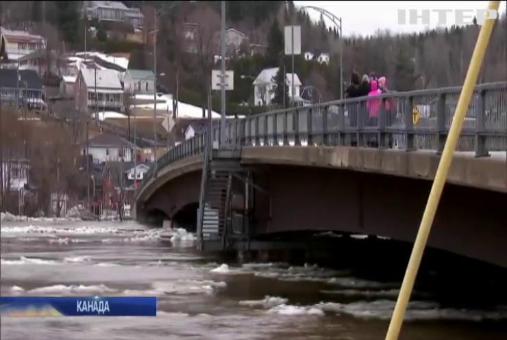 Канадське місто опинилося під водою