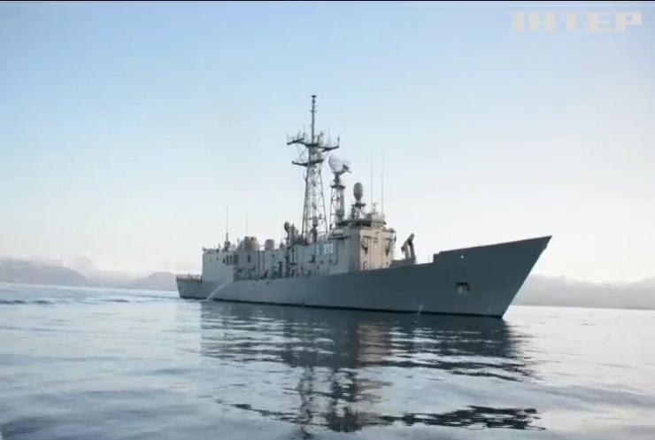 Флотилія НАТО прямує до Польщі