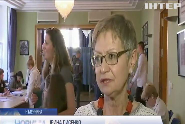 Українці за кордоном були активнішими у другому турі виборів