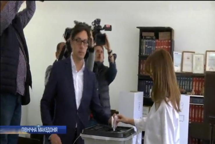 У Північній Македонії провели перший тур виборів президента