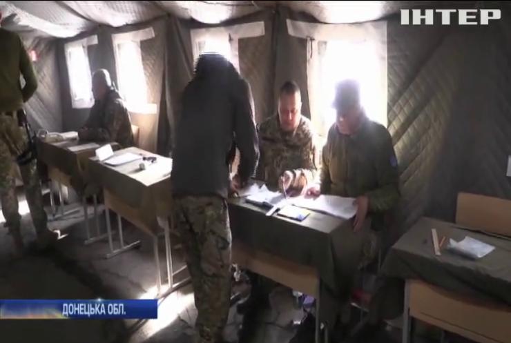 Вибори на Донбасі: військові показали максимальну активність