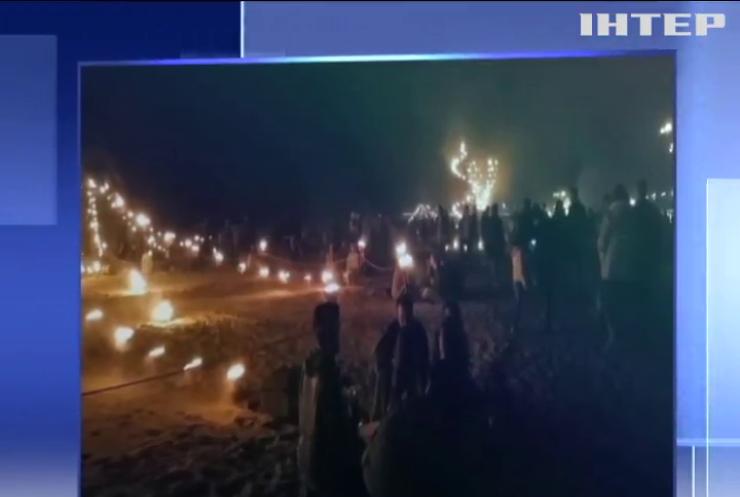 Великдень у Нідерландах: жителі створили вогняні композиції