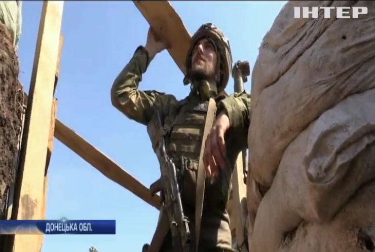 На Донбасі військові протидіють ворожим снайперам