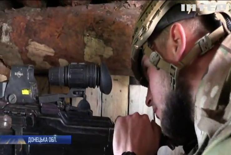 """У Зайцевому бійці """"Азову"""" ведуть боротьбу проти снайперів противника"""
