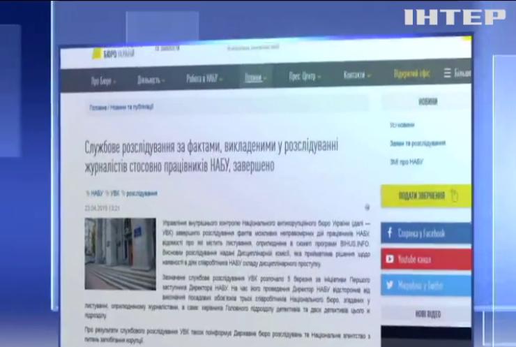 НАБУ озвучило результати розслідування у справі Гладковських