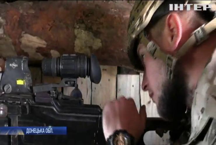"""На Донбасі бійці """"Азову"""" ведуть боротьбу зі снайперами противника"""