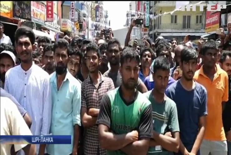 Теракти на Шрі-Ланці: поліція затримала підозрюваних