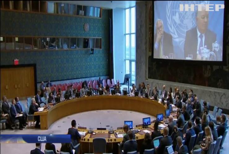 Засідання Радбезу ООН: Україна закликала посилити санкції проти Росії