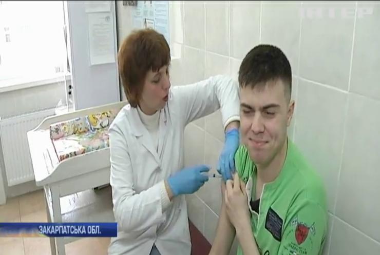 В Україні невпинно зростає кількість хворих на кір