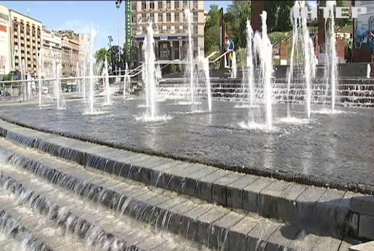 У Києві запрацюють фонтани у режимі світло-музичного шоу