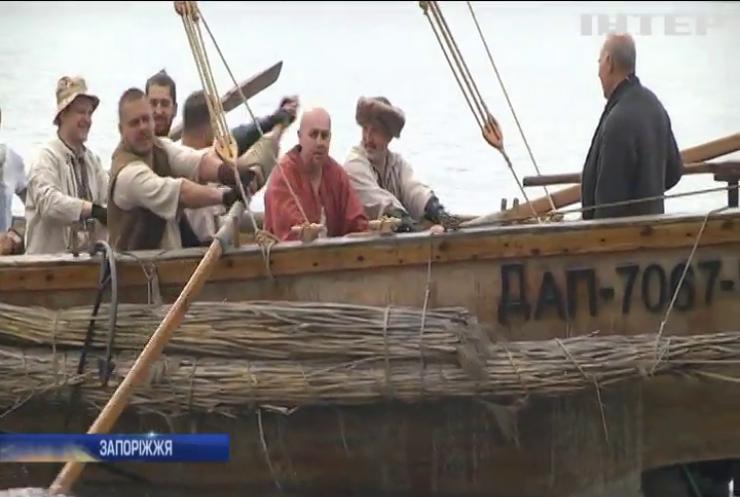 На Запоріжжі відновлюють традиції козацького судноплавства