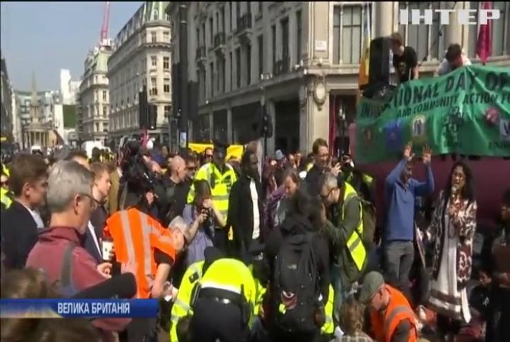 """Лондонські еко-активісти закликають оголосити """"надзвичайну кліматичну ситуацію"""""""