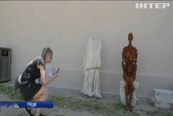 На острові Даос влаштували виставку сучасного мистецтва