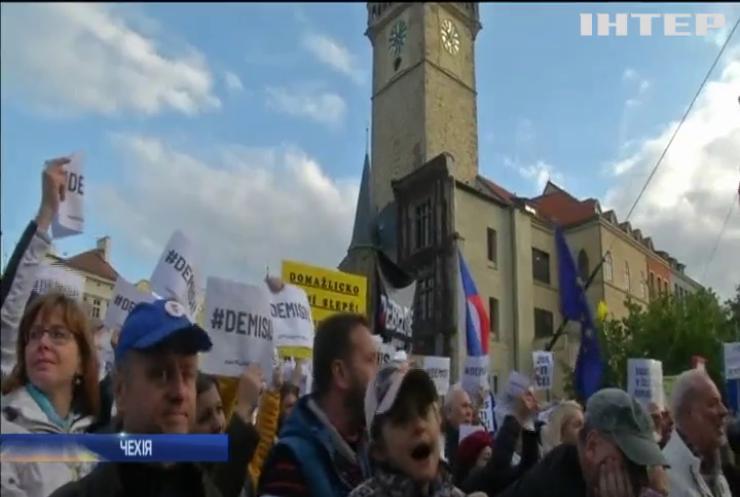 Чехію сколихнули антикорупційні протести