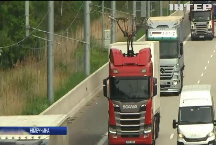 У Німеччині відкрили автобан для електровантажівок