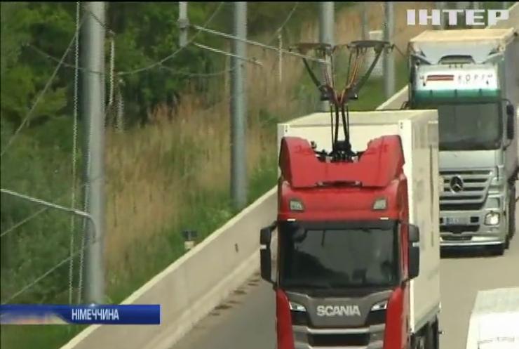 У Німеччині відкрили першу магістраль з підвісними електромережами