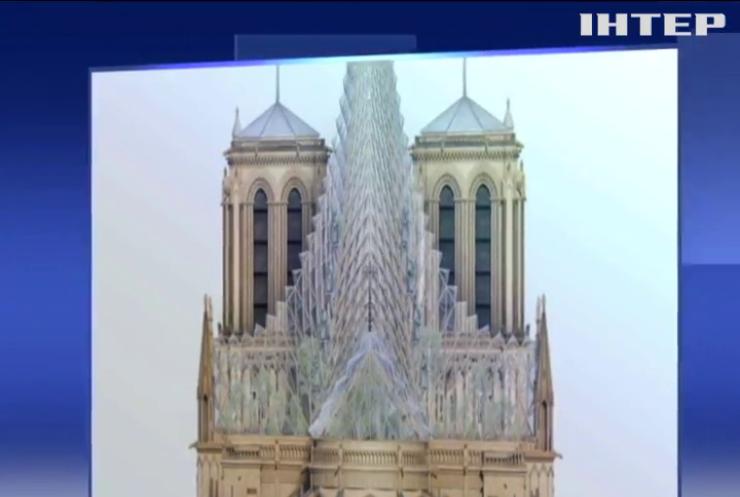 Новий дах собору Нотр-Дам зможе живити енергією цілий квартал Парижа