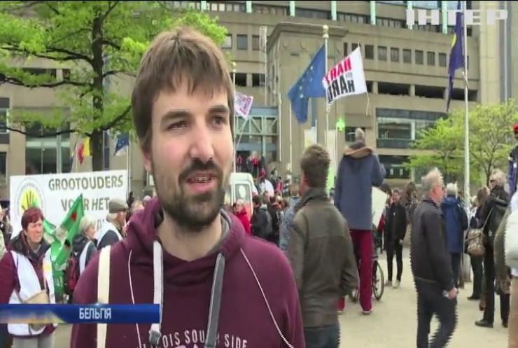 Екоактивісти вийшли з протестами на вулиці Брюсселя