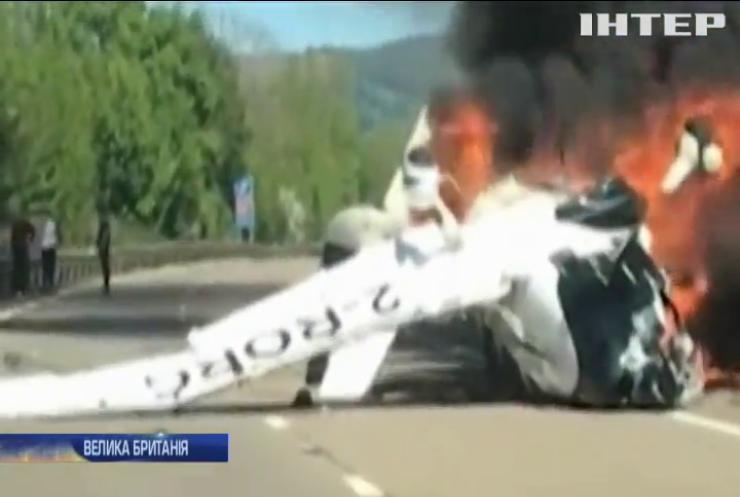 В авіакатастрофі у Британії вижили троє людей (відео)