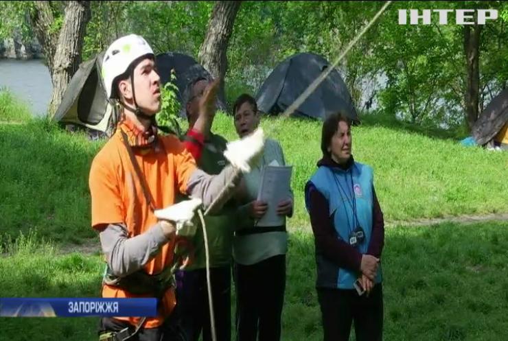 На Запоріжжі провели Чемпіонат України з гірського туризму