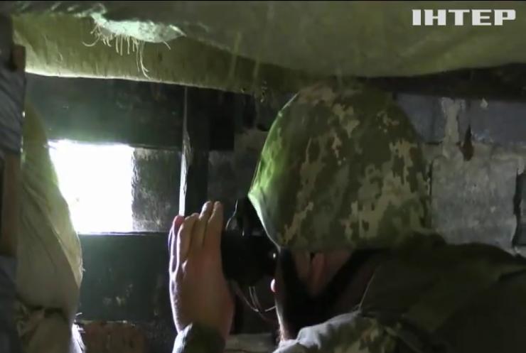 На Донбасі бойовики завдали ударів по українських позиціях