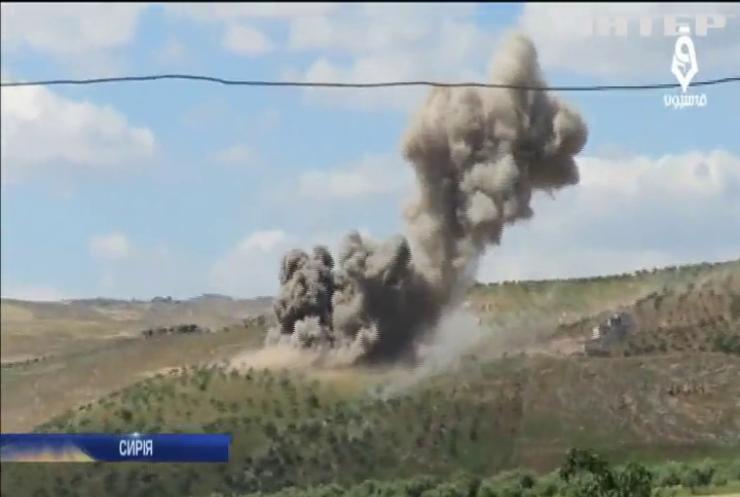 У Євросоюзі засудили загострення ситуації у Сирії