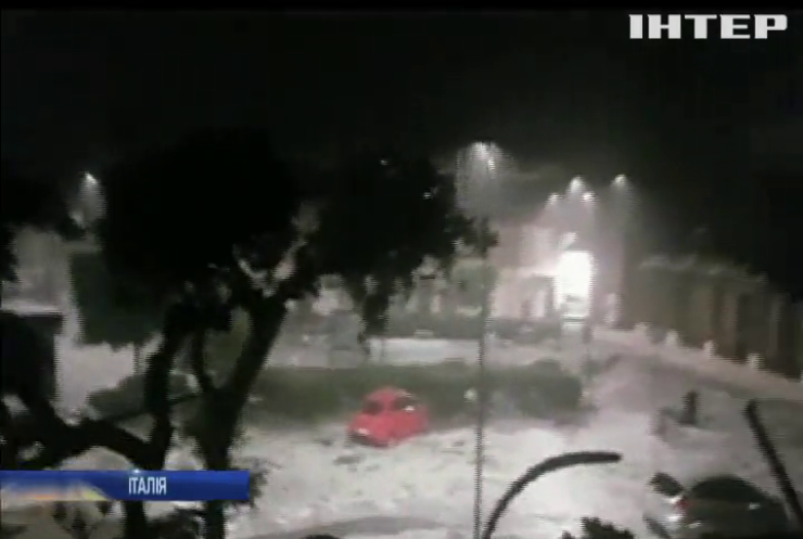 Італію накрило потужним штормом