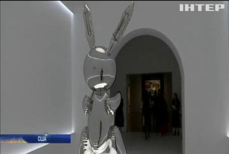 Кролика зі сталі продали за $91 млн