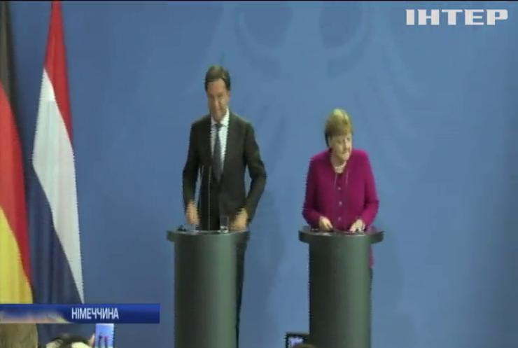 Ангела Меркель не працюватиме в керівництві ЄС