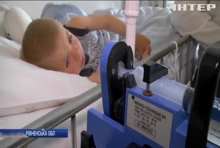 На Рівненщині гадюка вкусила трирічного малюка