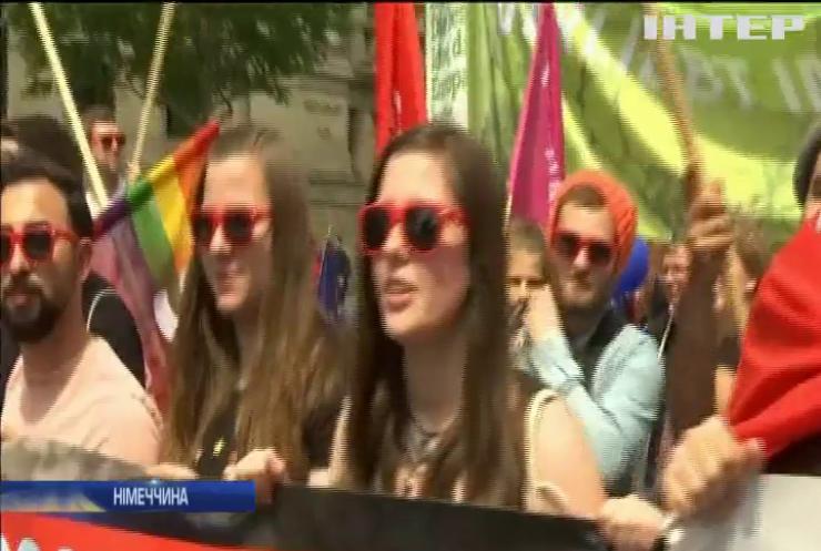 У Берліні протестували проти націоналізму  та дискримінації