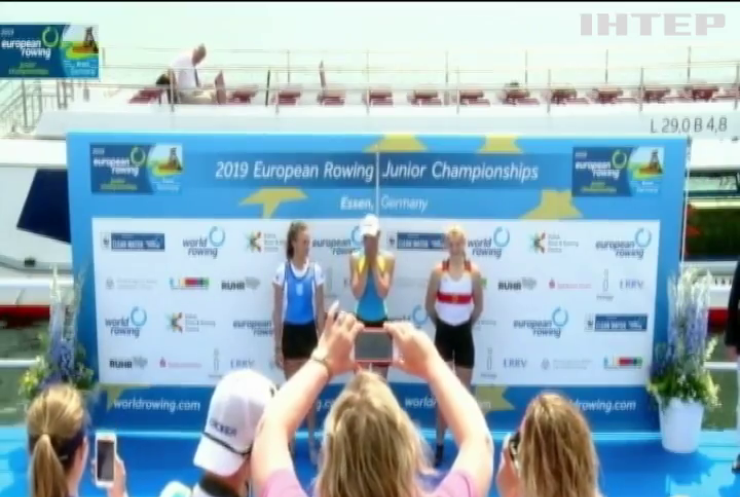 Україна виграла Чемпіонат Європи з академічного веслування серед юніорів