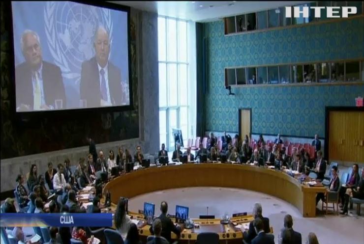 Радбез ООН відмовилась обговорювати мовний закон