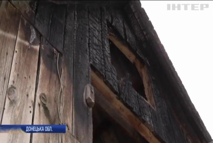 Війна на Донбасі: бойовики накривають вогнем хати мирних мешканців