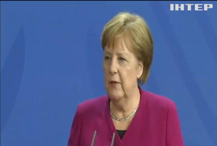 Ангела Меркель пообіцяла Володимиру Зеленському підримати реформи в Україні