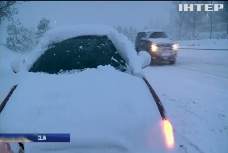 Штат Колорадо замело снігом