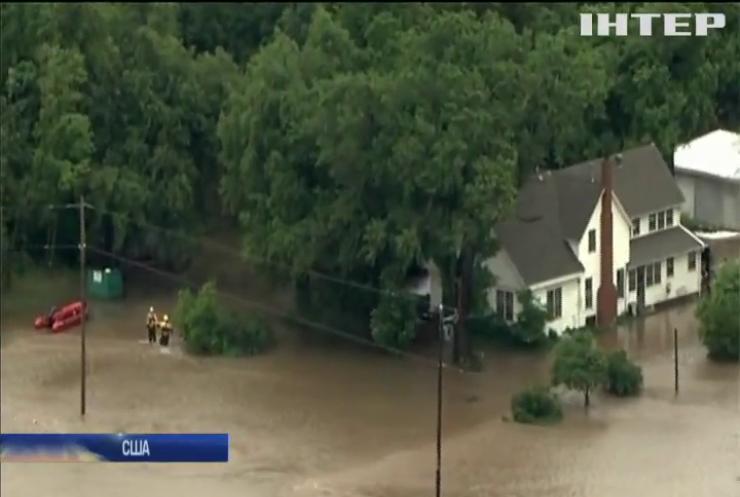 У США дощі затопили сотні будинків