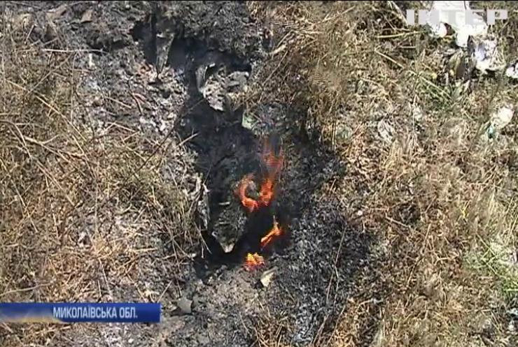 Пожежа на сміттєзвалищі: рятувальники фіксують порушення техніки експлуатації