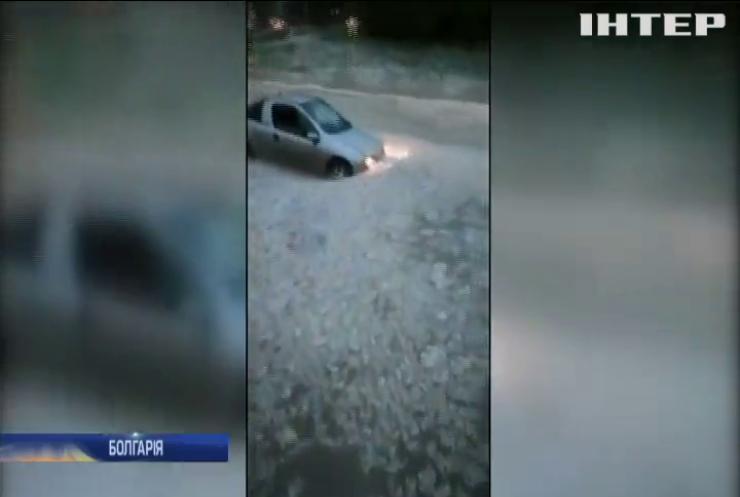 Болгарський курорт затопило потужною зливою