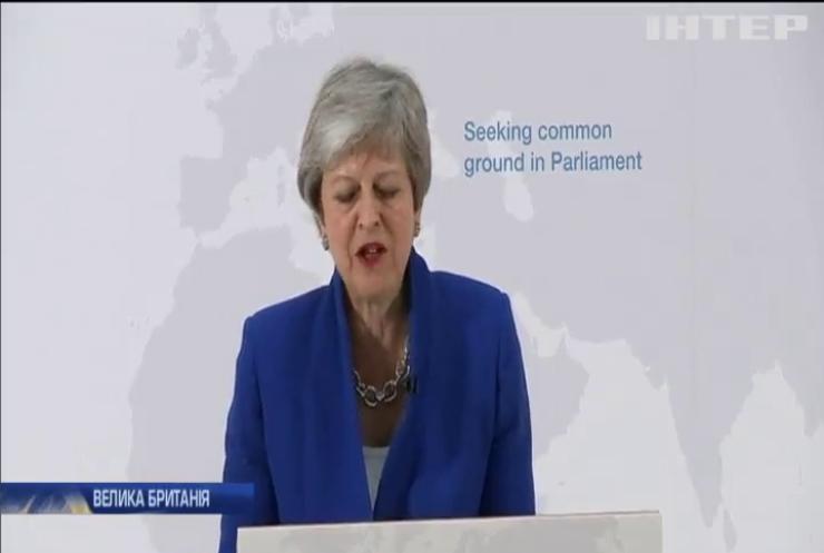 """Тереза Мей закликала підтримати оновлену угоду про """"Брекзит"""""""