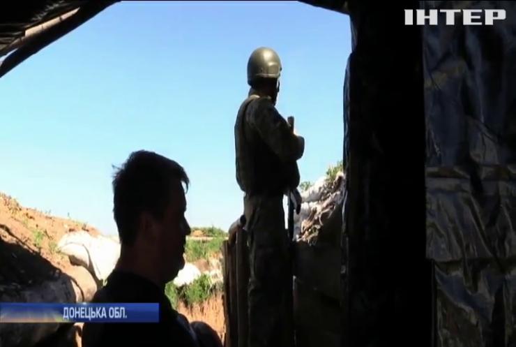 На Донбасі військові вивели з ладу БМП бойовиків