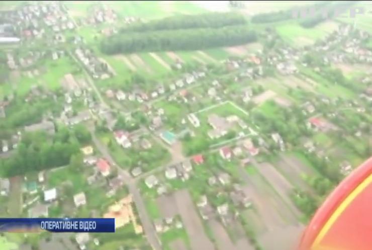 На Івано-Франківщині оцінюють збитки від негоди