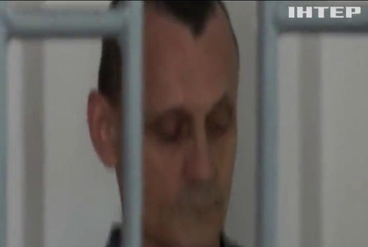 Український політв'язень оголосив голодування
