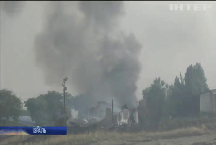 Ізраїль охопили пожежі