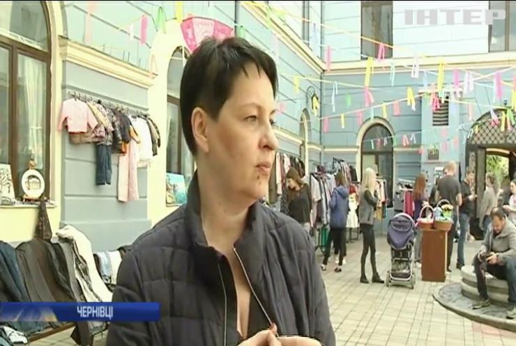 Волонтери Чернівців влаштували розпродаж задля придбання енцефалографа для лікування дітей