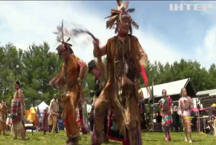 У США індіанці зібрались на щорічний фестиваль