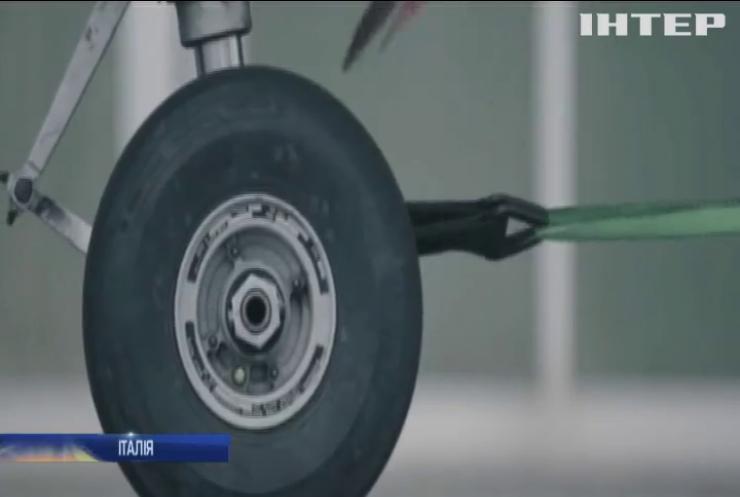 В Італії презентували робота-силача