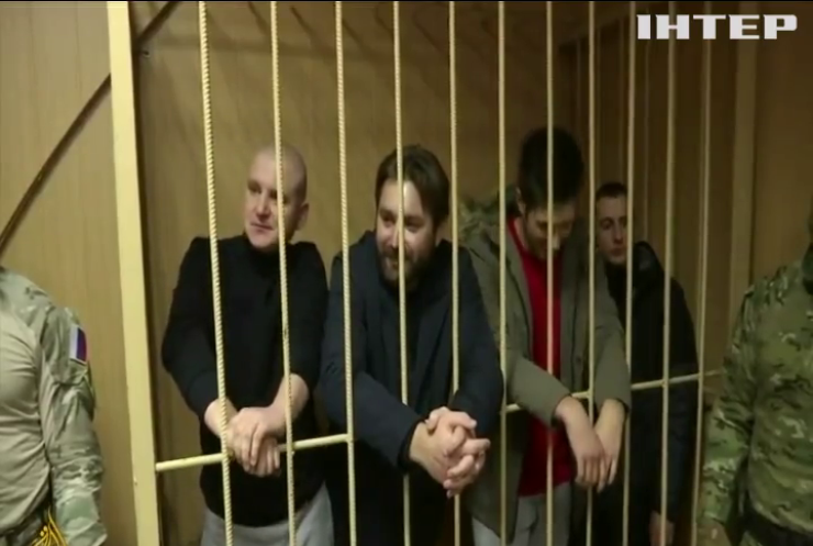 Московський суд залишив під вартою українських моряків