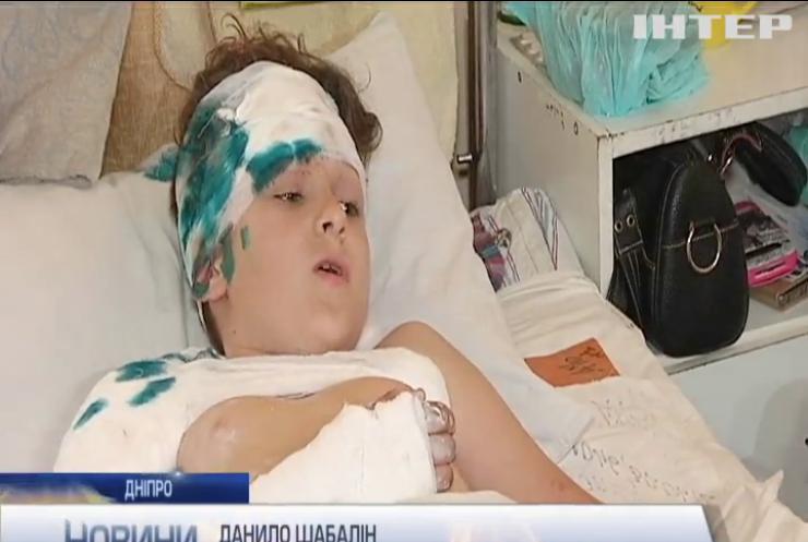 На Дніпропетровщині автобус зі школярами потрапив у аварію