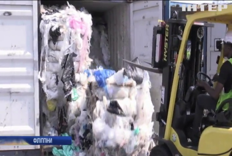 Країни Азії потопають у смітті